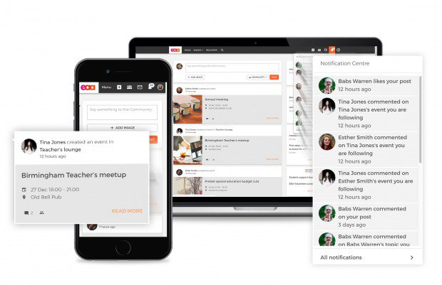 Open Social Interface for Community Management