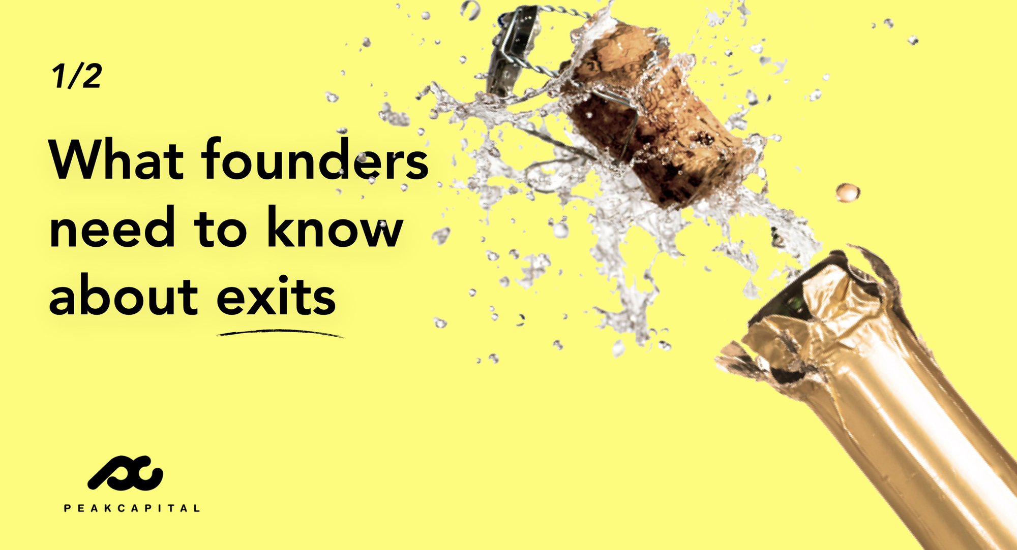 What Europe's Founders Need to Know about Exits (part 1)