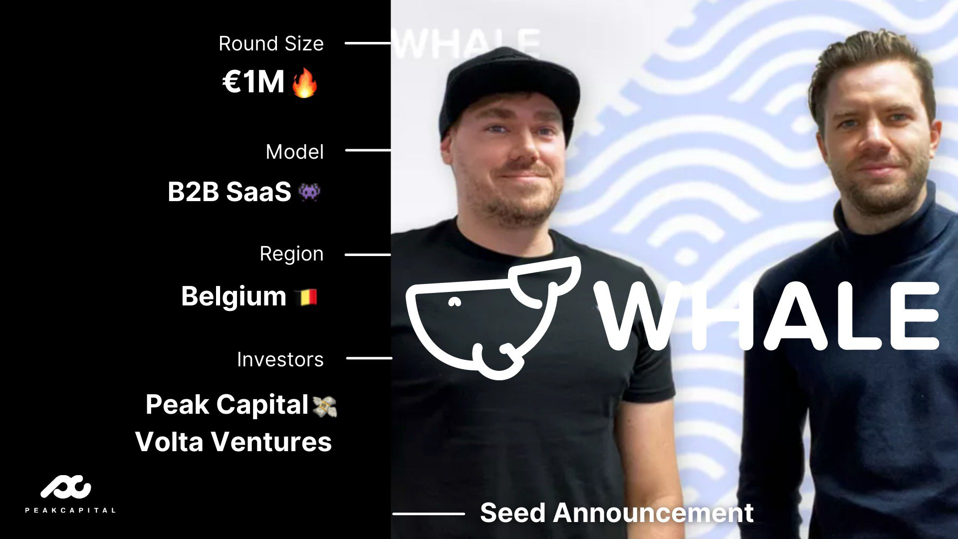 Whale lands EUR 1 million in funding from Volta Ventures and Peak Capital to help businesses deliver better employee onboarding and training