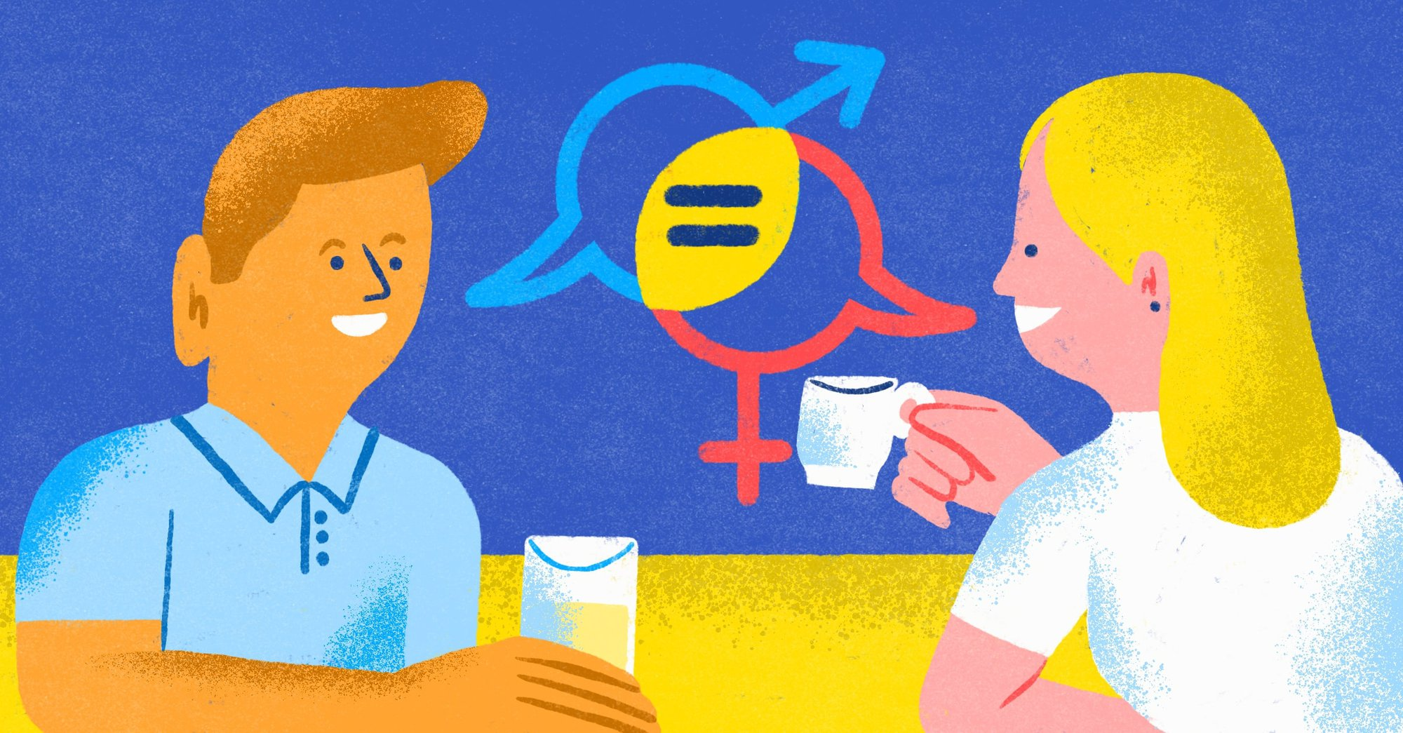Why the gender divide is in part a language problem.